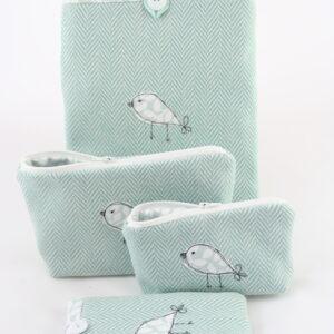 4 - Duck-egg blue wool